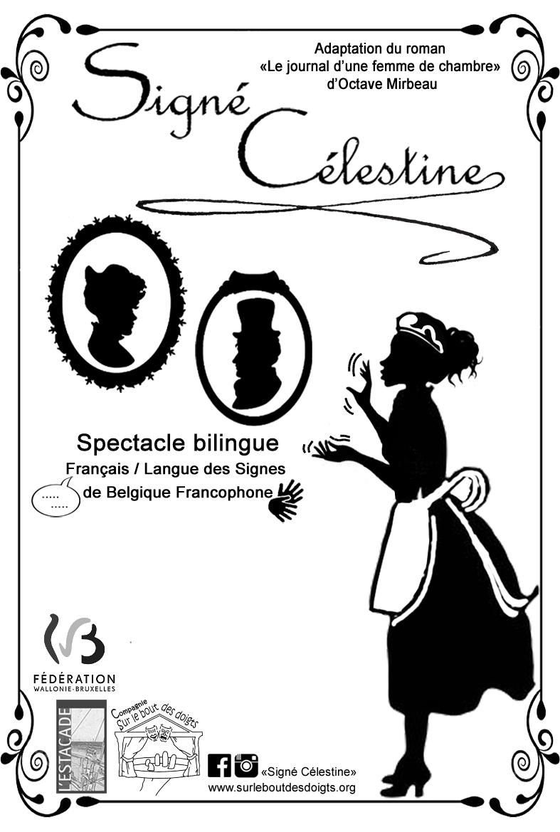 Affiche Signé Célestine (VIDE) (2)