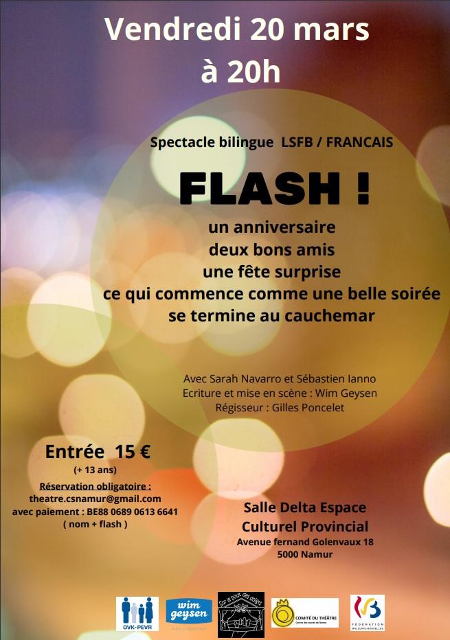 Affiche Flash Namur